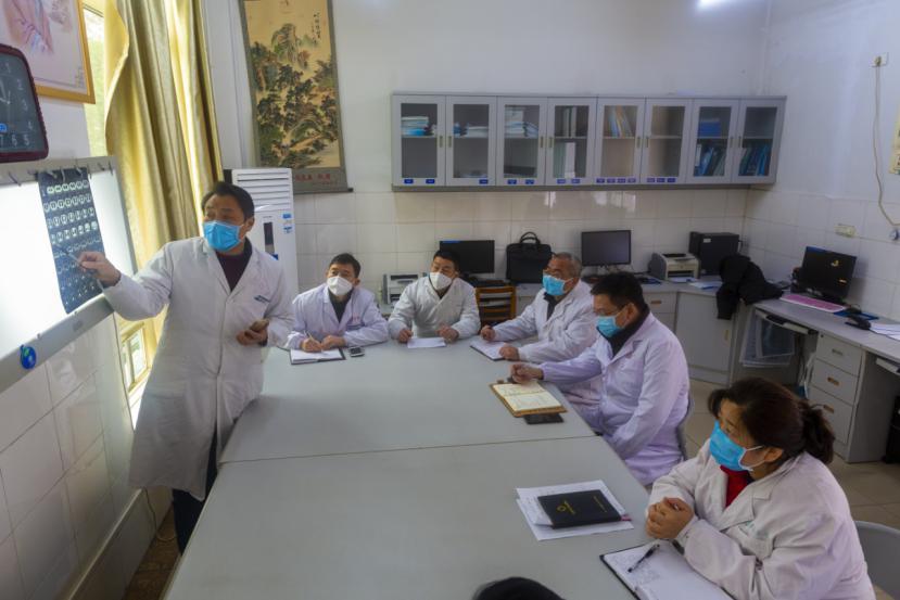 天使肉身生铁骨  ——记夷陵医院感染性疾病科主任赵春华