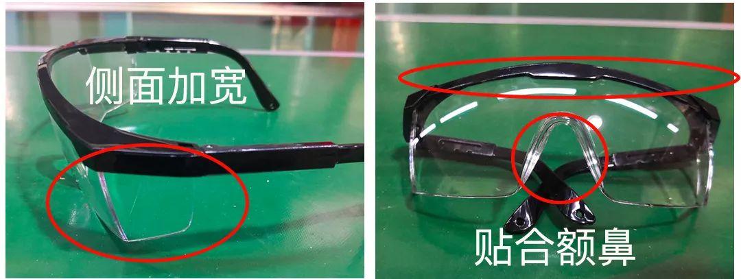 正文  这款护目镜,镜片与眼部有足够的空间,里面完全可以佩戴近视眼镜