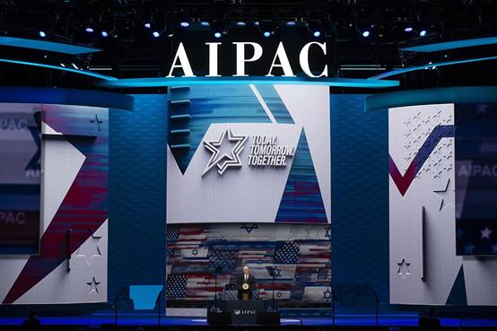 2020年在华盛顿举行的AIPAC年度政策会议(来源:美联社)
