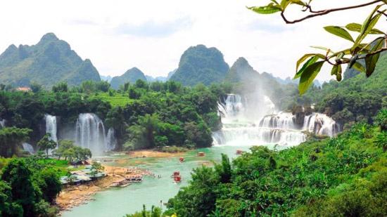 广西德天瀑布3月8日恢复开园 旅游团队业务暂不开放