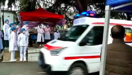 武汉江夏区中医医院新冠肺炎患者清零 将恢复正常医疗服务图片