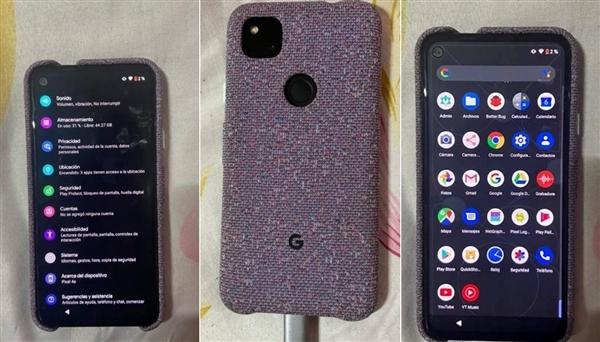 谷歌Pixel4a全新真机照曝光:Android版iPhoneSE2