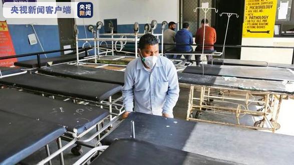 印度1名疑似新冠肺炎感染者从隔离医院逃走图片