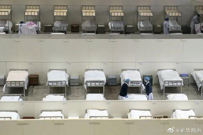开放床位最多、累计收治人数最多,江汉方舱医院休舱了!图片