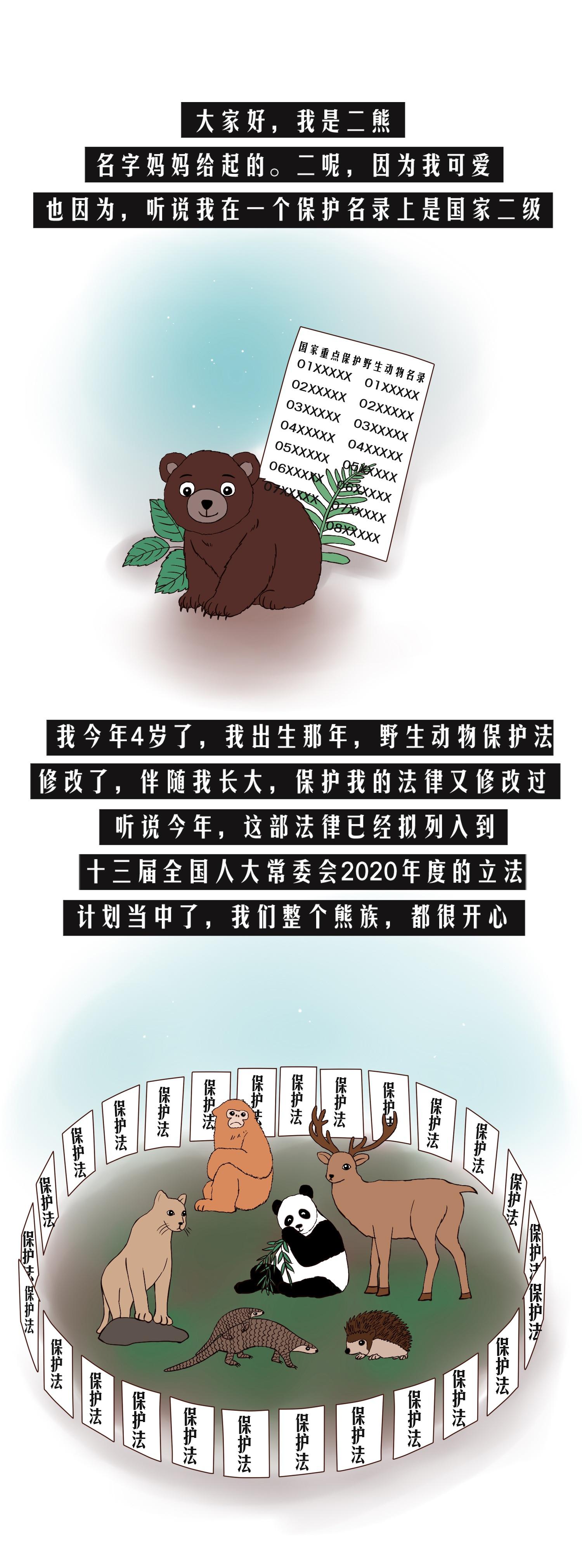 二熊的烦恼图片