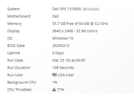 戴尔顶配版XPS 15 9500曝光:i9