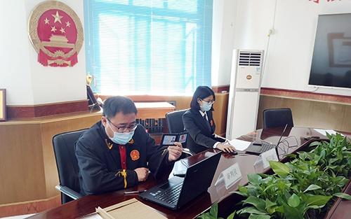 """房山法院""""多元解纷+梯次审理""""打造疫情期间矛盾化解""""快车道""""图片"""