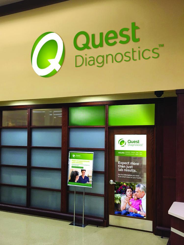 Quest Diagnostics公司的营业网点 图自:社交媒体