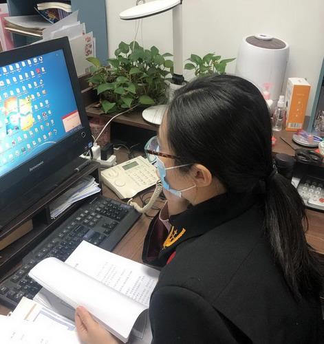 海淀法院保障武汉企业及时复工图片