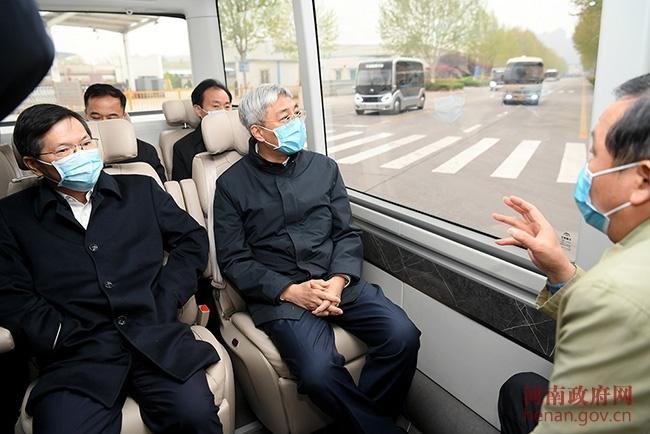 尹弘在郑州调研时强调 抢抓机遇加快发展提升汽车产业优势图片