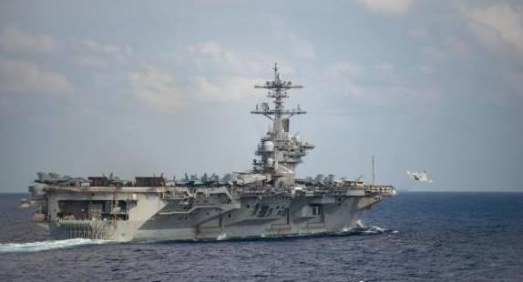 美防长回应罗斯福号航母求援:没看信 不疏散