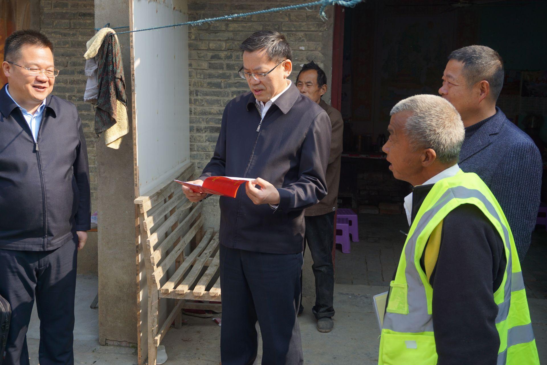 刘惠赴临泉县调研指导脱贫攻坚和定点帮扶工作图片