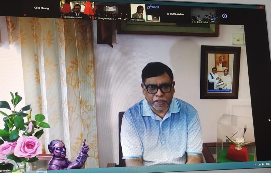 △孟加拉国卫生和家庭福利部长扎西德·马利克