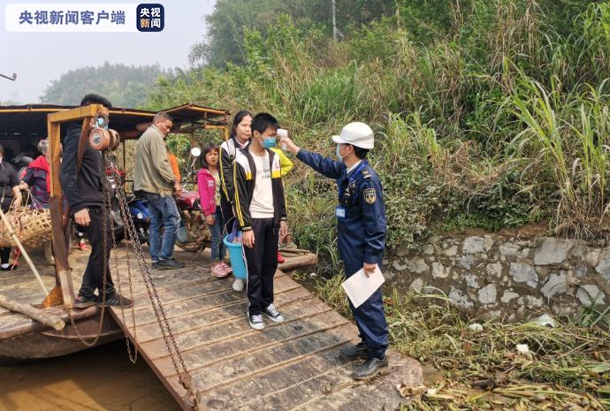 广西武宣:复学渡运忙 海事贴心为学生护航图片