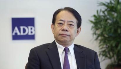 图:亚洲开发银行行长浅川雅嗣
