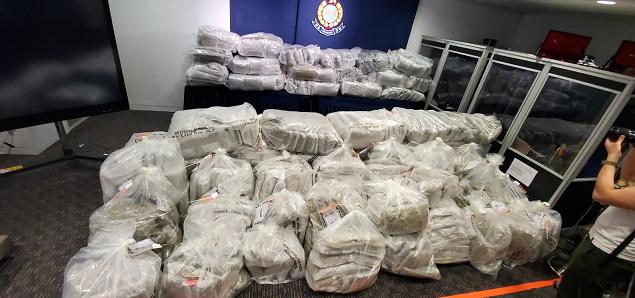 香港警方破获迄今最大一起大麻花毒品案 市值一亿港元图片