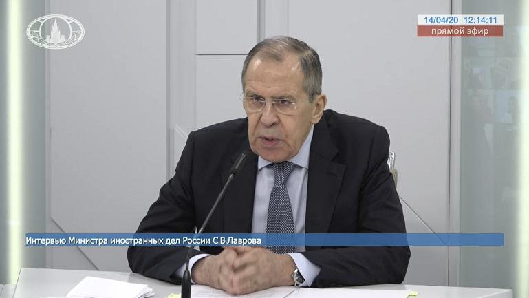 俄外长拉夫罗夫:因新冠病毒对中国索赔是不可接受的图片