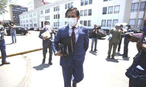 △图为卡洛斯·阿尔梅利,图片来自秘鲁媒体。
