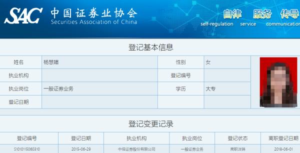 中信证券上海分公司员工销售飞单 收证监局警示函