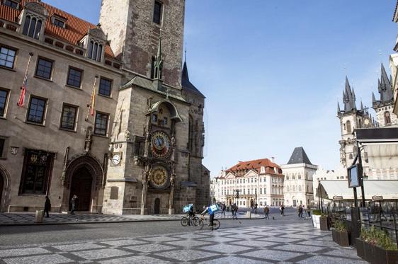 △图为布拉格老城 来自当地媒体