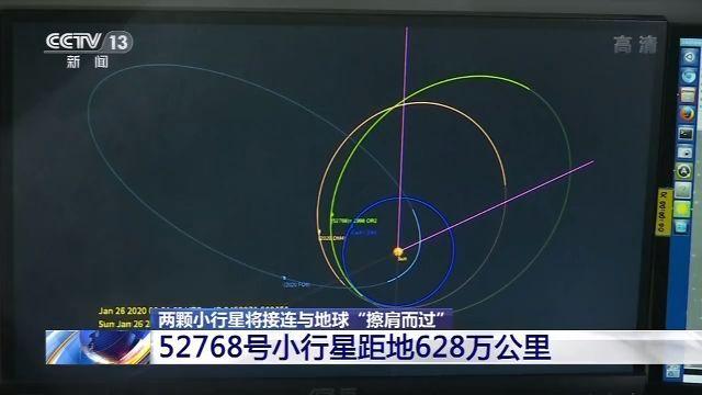 """两颗小行星将与地球""""擦肩而过"""" 科学家:不必担心图片"""