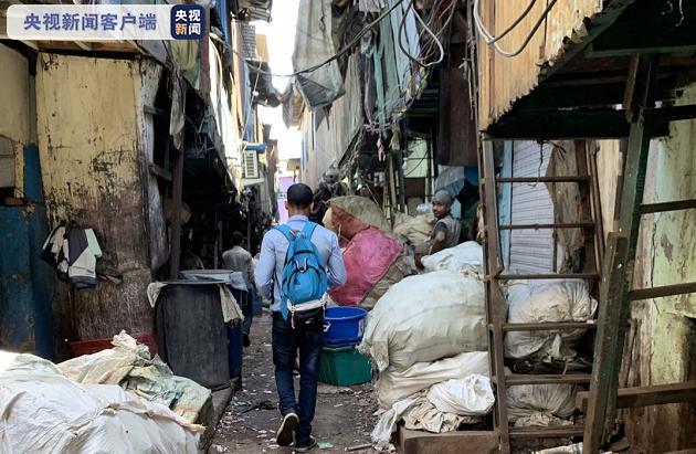 △印度孟买塔拉维贫民窟