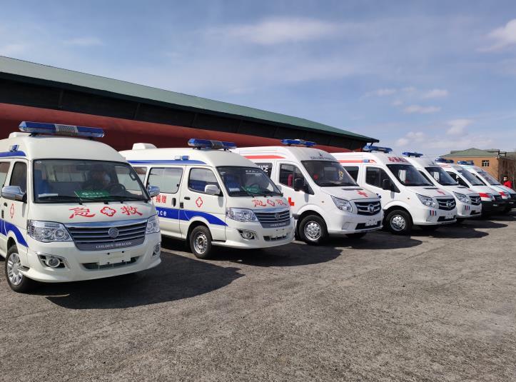 国家卫健委紧急调配救护车ECMO等支援内蒙古满洲里图片