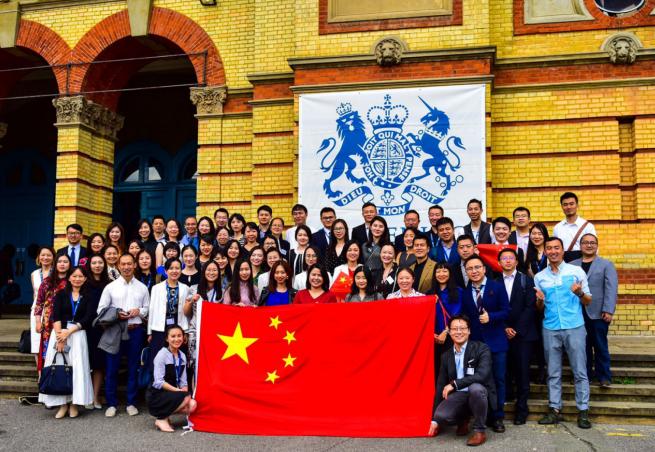 【自然科學】中送炭中國留學生向英自然科學國捐贈呼吸圖片