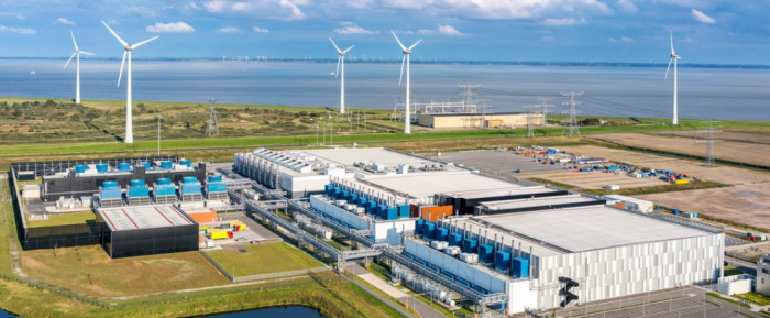 谷歌数据中心时刻关注天气  以充分利用可再生能源