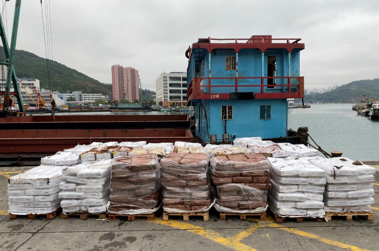 【天富】香港海关破获天富今年最大宗走私冻肉案件图片