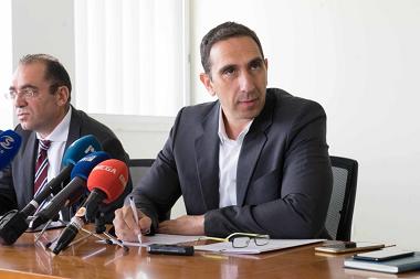 △塞浦路斯卫生部长康斯坦丁诺斯·约阿努