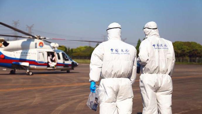 摩天注册疾病上海海空接力助入摩天注册境就医图片