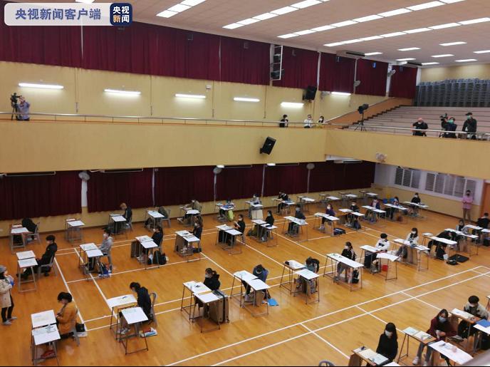 香港中学文凭考试24日正式开考 超5万名考生将首次全程戴口罩参加考试图片