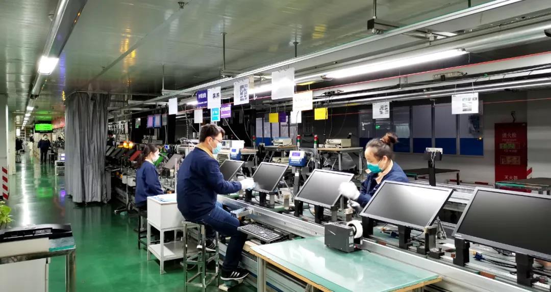 带动235家供应商复工复产 中国电子为全球显示产业链稳定注入力量图片