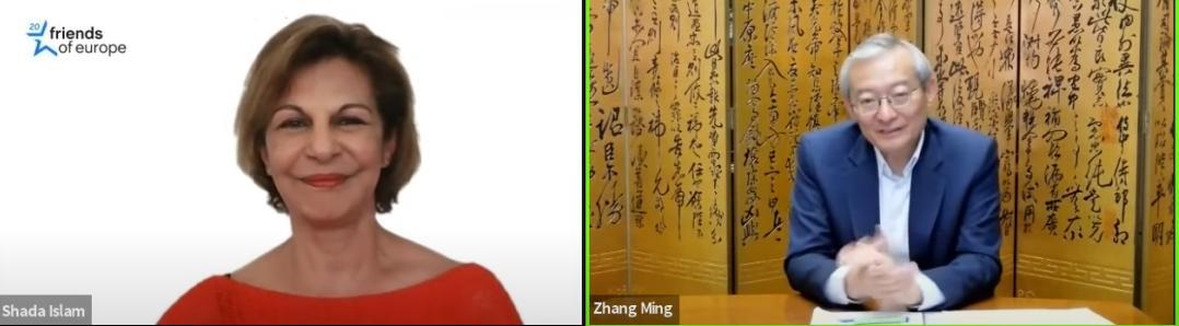 摩天注册:欧盟指摩天注册责中国宣传虚假信息张图片