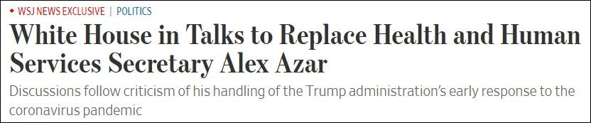 截图:《政客》、《华尔街日报》