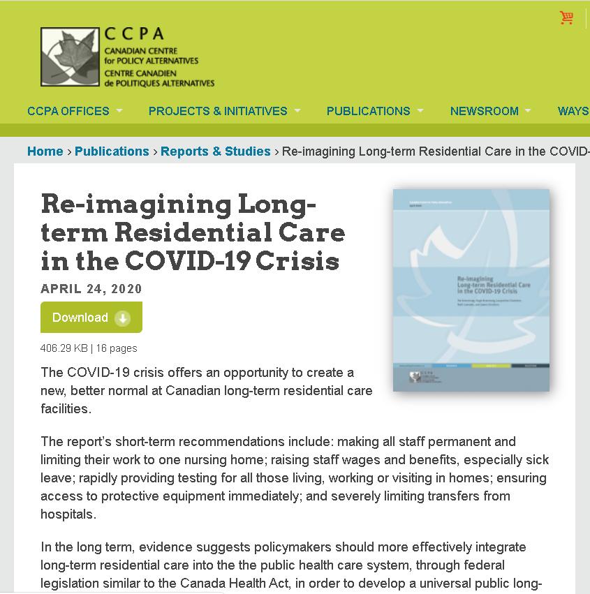 △加拿大政策变革中心(CCAP)的相关研究报告
