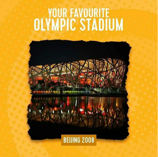 摩天测速:鸟巢获评摩天测速最受喜欢的奥运图片