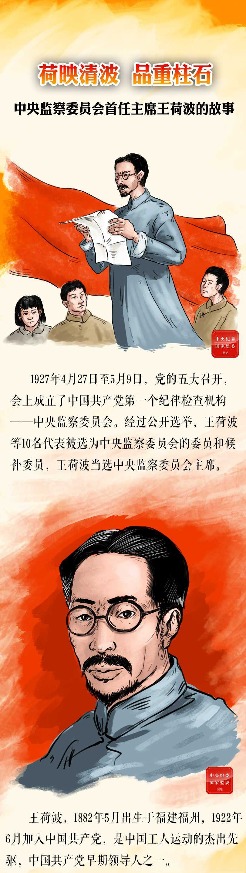 手绘故事 | 中央监察委员会首任主席王荷波图片