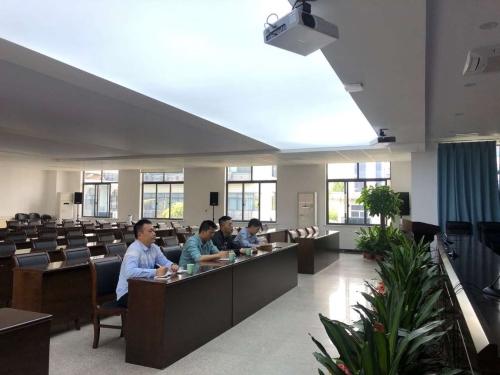 省建设厅组织召开全省海绵城市建设效果评价业务指导视频会议图片