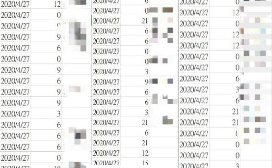 有网友发明捐赠口罩的名单中,有不少民众捐0片(图片泉源:台湾《团结报》)