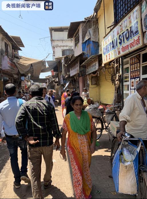△印度孟买达拉维贫民窟