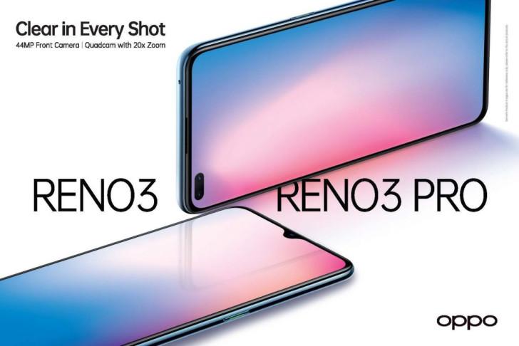 继Find X2 Pro之后,OPPO Reno3/Reno3 Pro也正式登陆新加坡