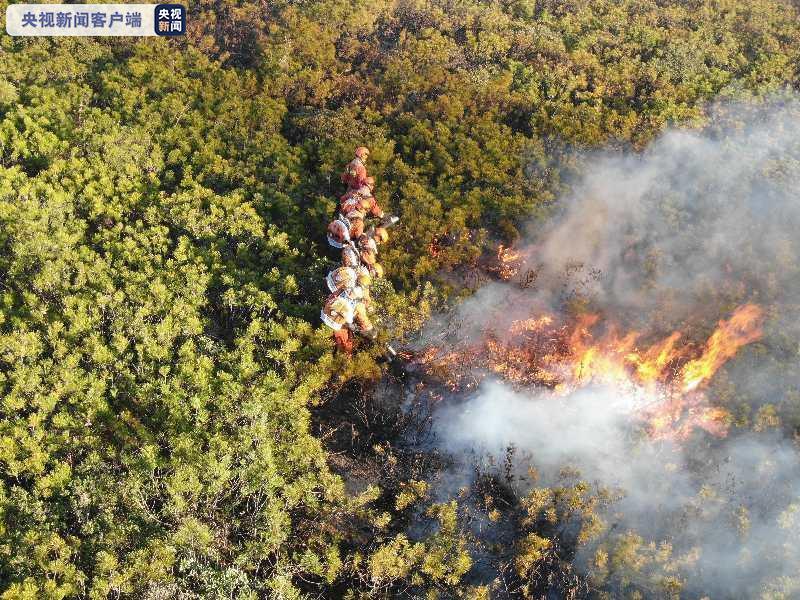 四川凉山木里森林火灾南线西线火场已基本得到控制图片
