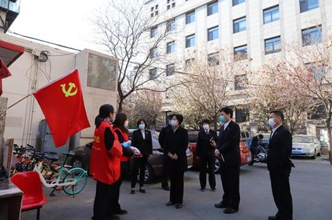 天津高院党组书记、院长李静到和平法院调研指导工作图片