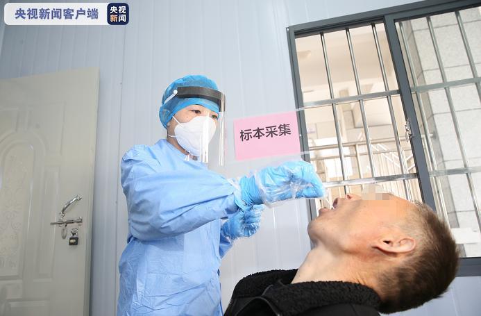 安徽多家医院要求住院患者及陪护均需进行核酸检测图片