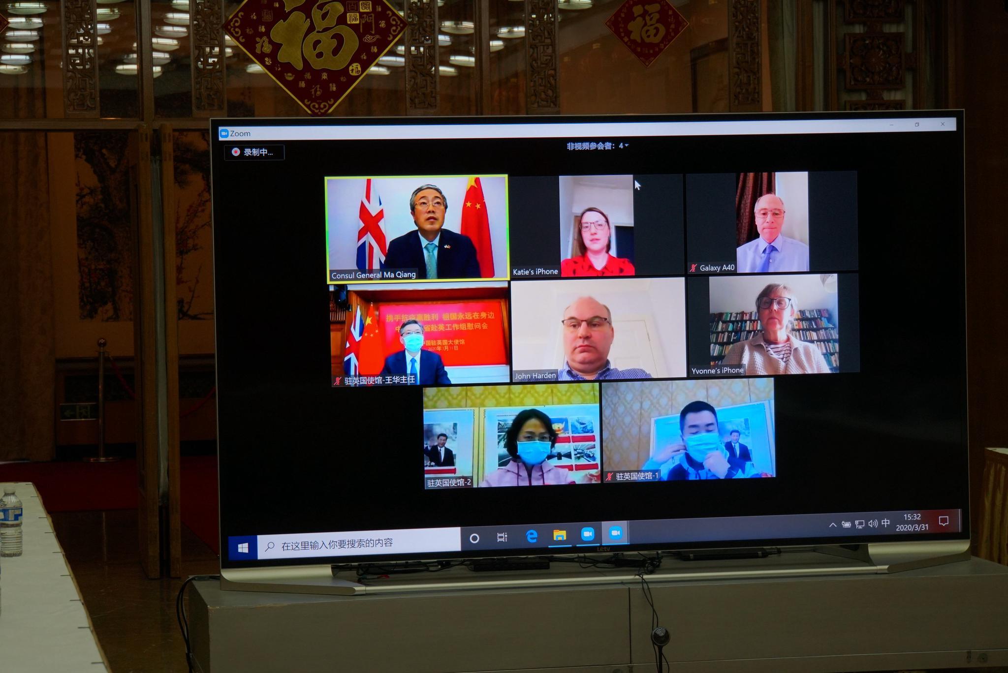 英方对中国社区联防和集中隔离措施感兴趣