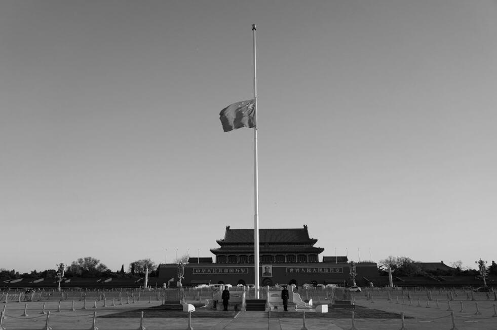 新华网评:悼念!以国家的名义图片