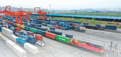 中欧班列开行数和发货量双双稳增