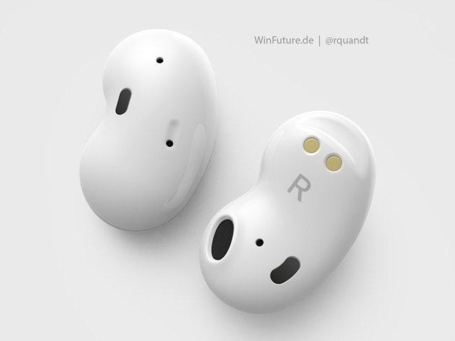 三星下一代GalaxyBuds耳机设计渲染图曝光